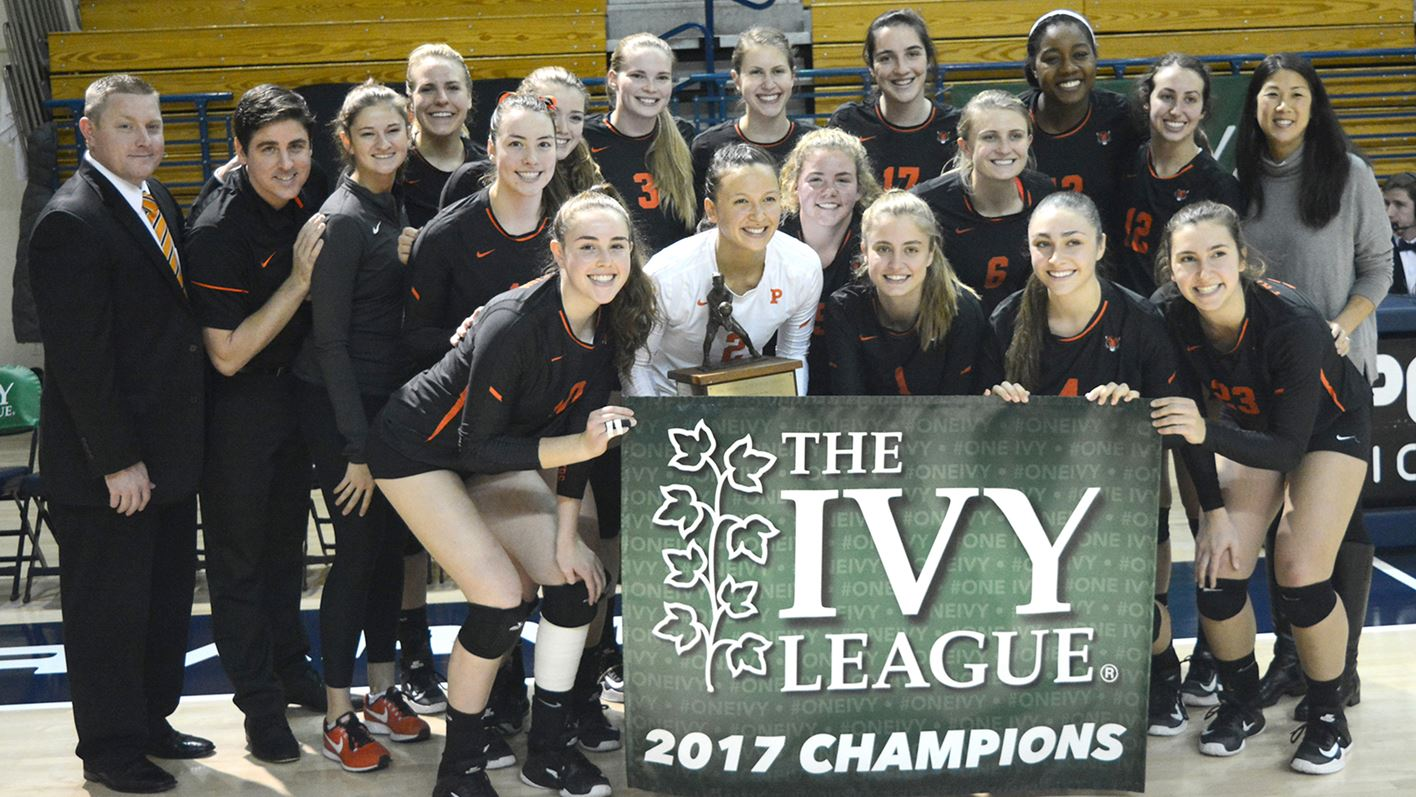 Reigning Champion Princeton Picked First In Inaugural Ivy League Volleyball Preseason Poll Princeton University Athletics