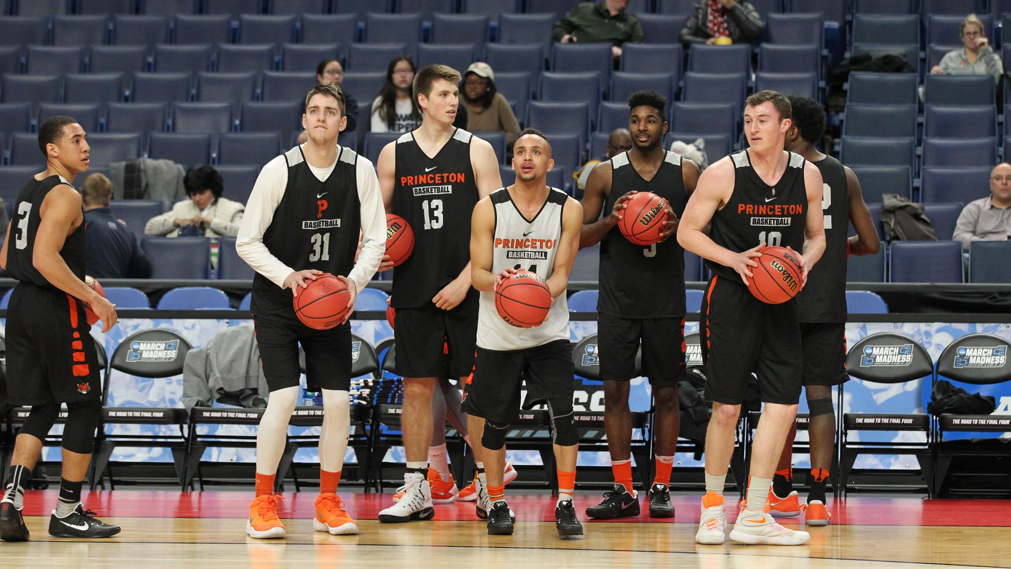 at last, march madness is here for princeton men's basketball