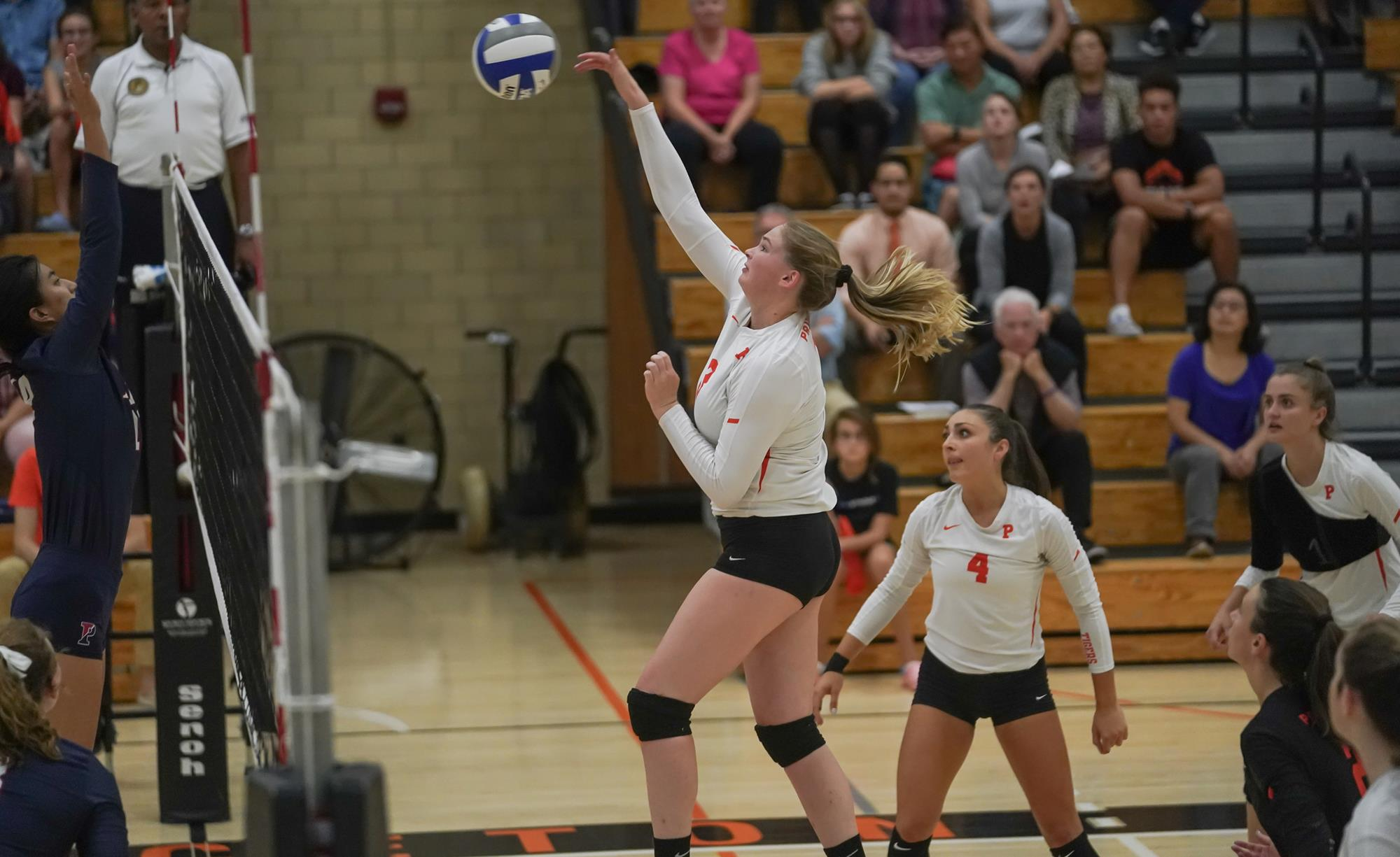 Women S Volleyball Overcomes Two Set Deficit Downs Cornell In Five Princeton University Athletics