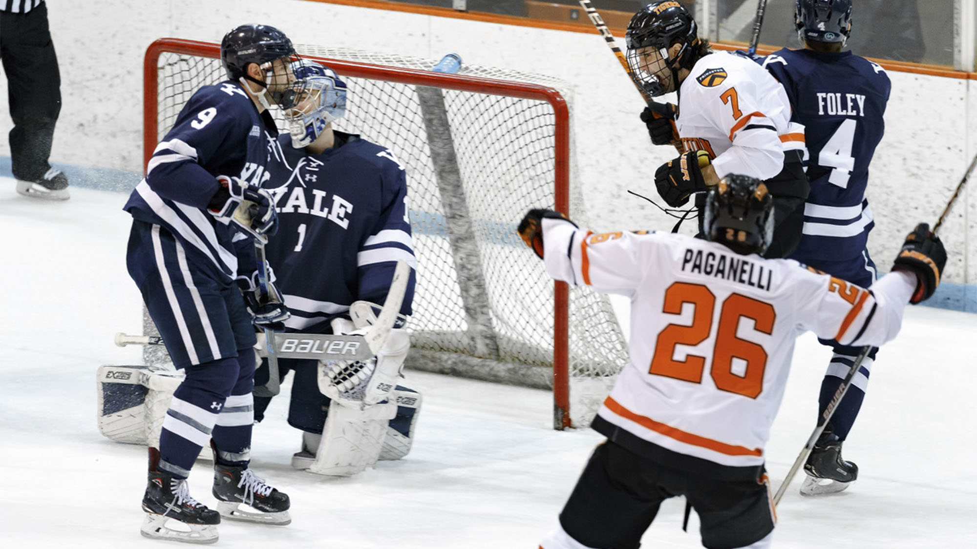 quality design 856c3 94c41 Eleven Players Pick Up Points in 4-1 Win Over Yale ...