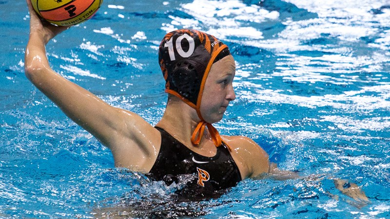 Britt Picked as CWPA Player of the Week - Princeton University Athletics