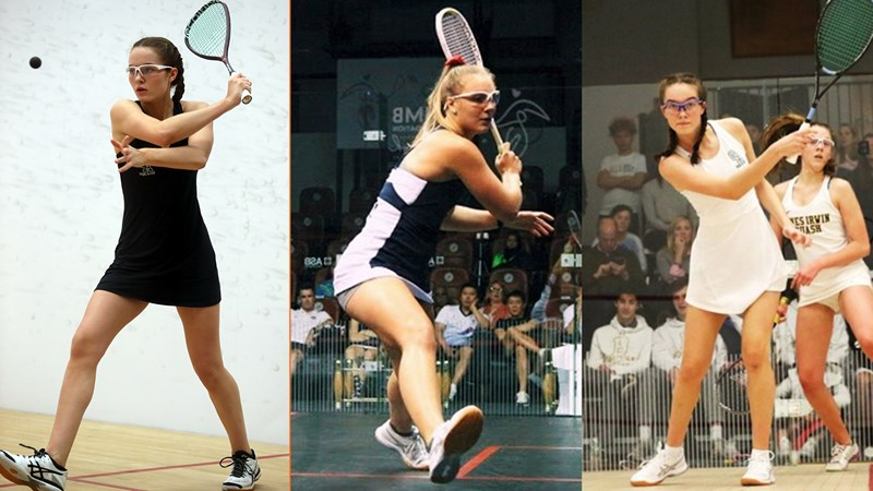 Women's Squash Team Announces Trio of Incoming Players